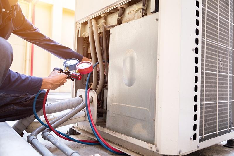 commercial HVAC repair Springdale