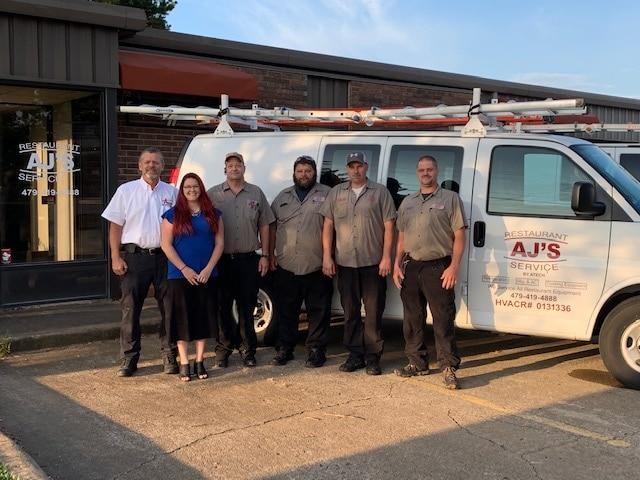 commercial appliance repair Springdale